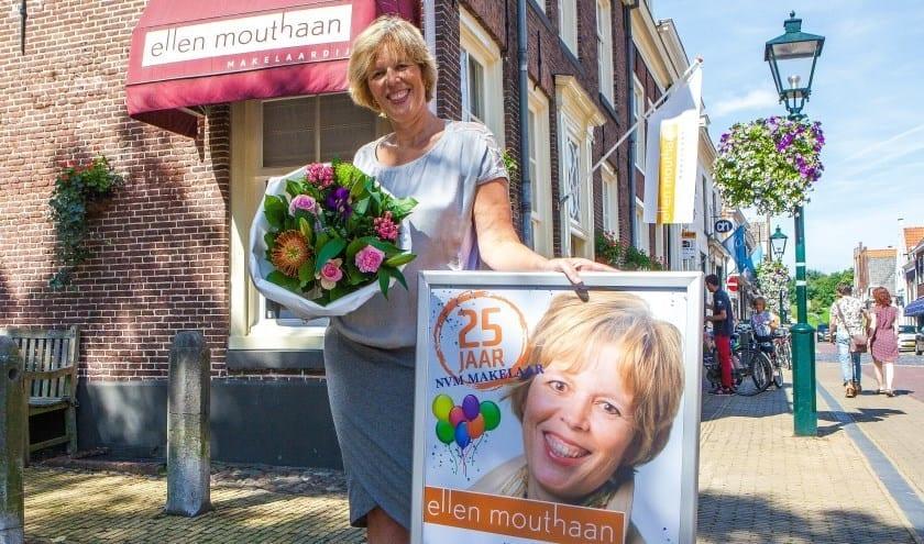 Ellen Mouthaan 25 jaar makelaar!
